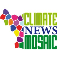 Climate news mosaic